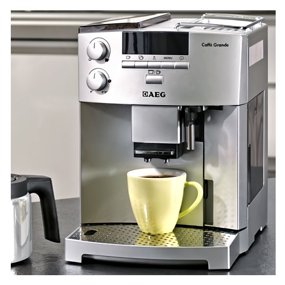 aeg caffe grande kaffeevollautomat espresso cg 6400 ebay. Black Bedroom Furniture Sets. Home Design Ideas