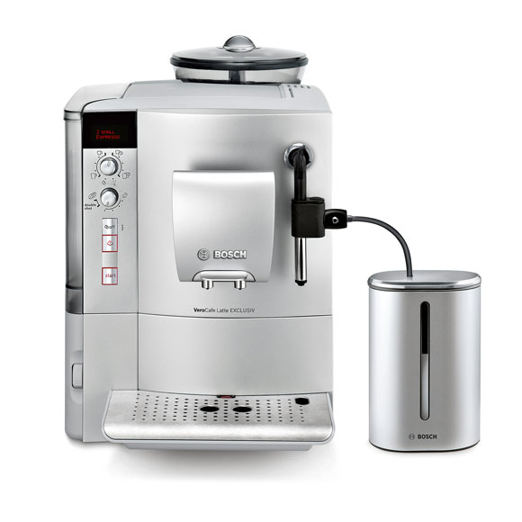 bosch verocafe latte exclusiv espresso kaffeevollautomat silber tes503f1de neu ebay. Black Bedroom Furniture Sets. Home Design Ideas