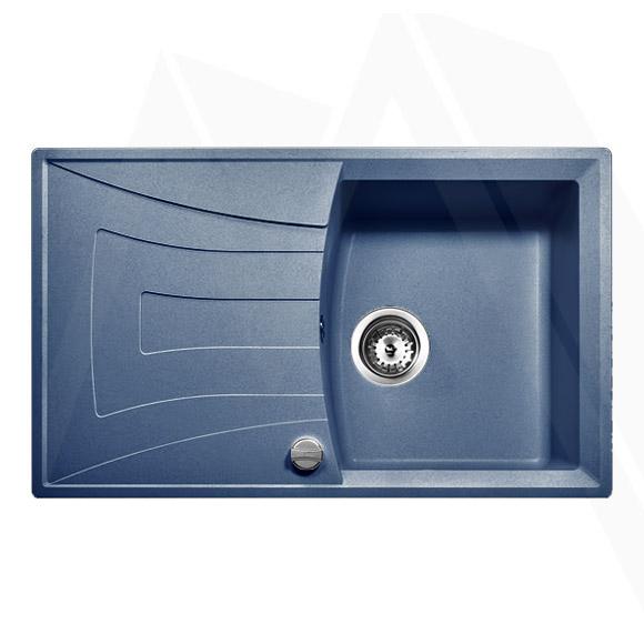 teka granitsp le blau einbausp le reversibel k chensp le universo 45 saphirblau. Black Bedroom Furniture Sets. Home Design Ideas
