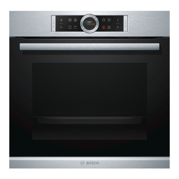 bosch backofen hbg634bs1 edelstahl 60cm einbaubackofen ebay. Black Bedroom Furniture Sets. Home Design Ideas