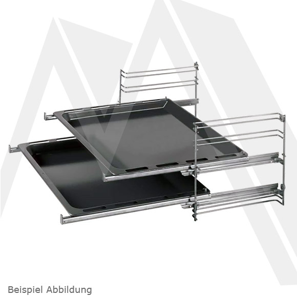 k ppersbusch 2 fach teleskopauszug zub1085 voll auszug ebay. Black Bedroom Furniture Sets. Home Design Ideas