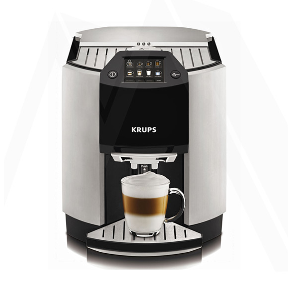 krups kaffeevollautomat espressomaschine onetouch cappuccino vollautomat ea9000 ebay. Black Bedroom Furniture Sets. Home Design Ideas