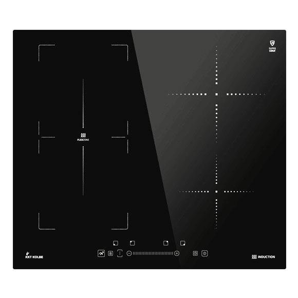 induktions kochfeld mit flexzone 60cm autark kochfeld. Black Bedroom Furniture Sets. Home Design Ideas