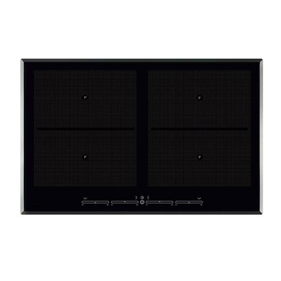multislider induktionskochfeld topferkennung powerstufe 80cm facetten rahmen neu ebay. Black Bedroom Furniture Sets. Home Design Ideas